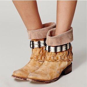 Freebird   boho style embellished boots 7